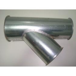 Derivación metálica aspiración 2 o 3 salidas