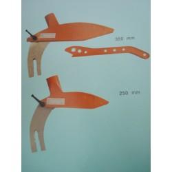 Protección Homologada para sierra circular hasta 250 mm.
