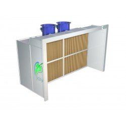 Cabina barnizar filtro cartón 2700 mm. CF270