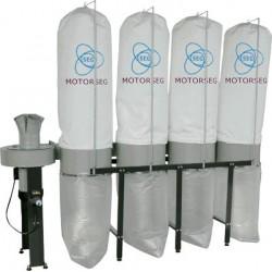 Aspirador de 4 sacos 7,5 Hp. DC5600F