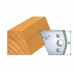 Juego cuchillas perfiladas para tupi referencia 800.001