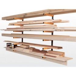 Kit de estante para almacenaje de madera WRA001