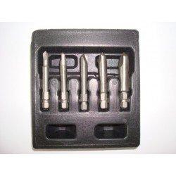 Juego extractores de tornillos dañados tipo PZ Ref. 675174