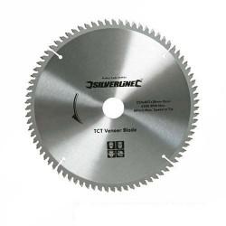 Sierra circular de widia para corte de chapa y melamina de 250 mm. modelo 244964