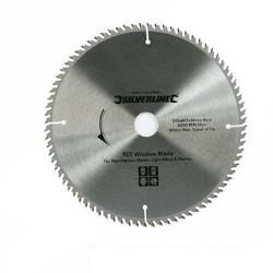 Sierra circular de widia para corte de chapa y melamina de 300 mm.