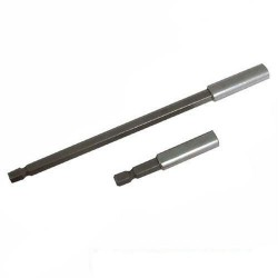 Portapuntas extralargos magnéticos para atornillar