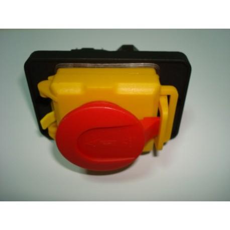 Interruptor con bobina de seguridad para maquinas o motores trifásicos de hasta 3 Hp.y 400 v.
