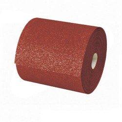 Rollo de lija para madera de óxido de aluminio de 115 mm. grano 80