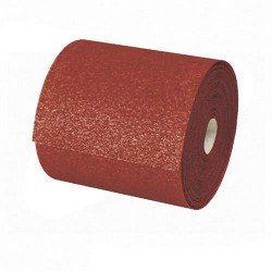 Rollo de lija para madera de óxido de aluminio de 115 mm. grano 40