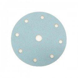 Disco de lija con velcro de 150 mm. y 8 agujeros grano 100