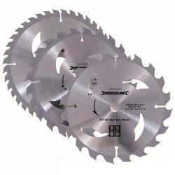 Juego de 3 sierras de widia de 150 mm. referencia 292712