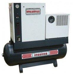 Compresor rotativo de tornillo de 10 Hp. con depósito 500 l. modelo 0Z512