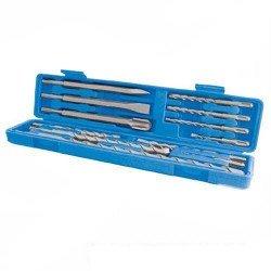 Estuche de brocas y cinceles para martillo con inserción SDS PLUS Ref. 633750