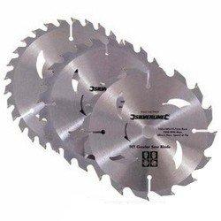 Juego de sierras circulares de widia de 165 mm. referencia 934115