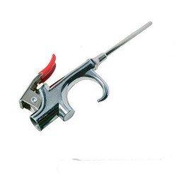 Pistola sopladora neumática con boquilla larga