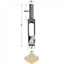 Broca para realizar tapones en madera de 25 mm. referencia 529.250.31