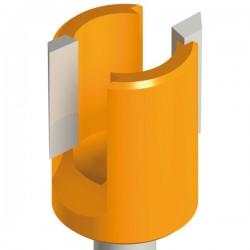 Fresa de 24 mm. para bisagras de puertas referencia 702.240.11