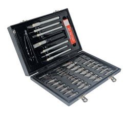 Estuche de cuchillas de corte de 51 piezas referencia 251239