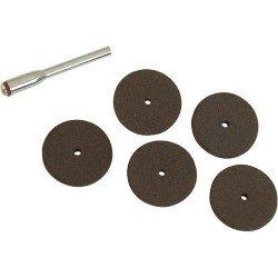 Kit de discos de corte de 22 mm. + espiga referencia 793815