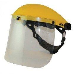Pantalla protectora con visor trasparente