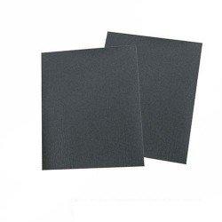 Paquete de 10 pliegos para lijar en seco y al agua grano 400 de 230 x 280 mm.