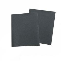 Paquete de 10 pliegos para lijar en seco y al agua grano 320 de 230 x 280 mm.