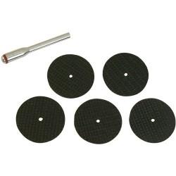 Discos de corte con espiga sujección de 31 x 1 mm referencia 580480