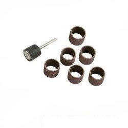 Rodillo lijador de 6,5 mm. con manguitos y mango de 3,1