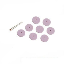 Juego de discos de esmerilar de óxido de aluminio referencia 675196