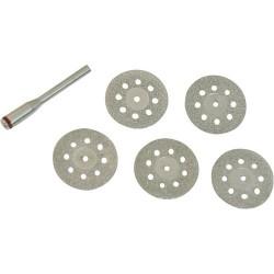 Juego de mini discos de diamante para corte de piedra y materiales cerámicos referencia 719813