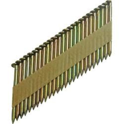 Clavo galvanizado de 3,1 x 75 mm. caja 2.500 unidades