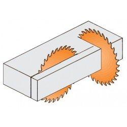 Sierra circular en diamante para máquinas portatiles de 160 x 20 eje referencia 236.160.04H