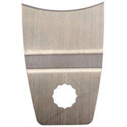 Cuchilla convéxa con doblez para el rascado de pinturas, colas y barnices referencia 31359