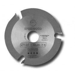 Sierra circular para cortar y fresar con amoladora SPEEDWOOD 125