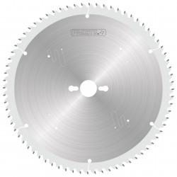 Sierra circularde 250 mm. para el corte de aluminio con máquina manual 878.250.080.30
