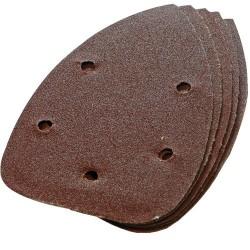 Lija velcro forma raton grano 240 paquete 10 unidades