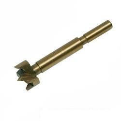 Broca con baño de titanio tipo FORSTNER de 40 mm.