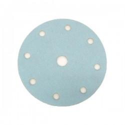 Disco de lija con velcro de 150 mm. y 8 agujeros grano 150