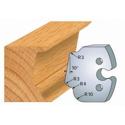 Juego de 2 cuchillas perfiladas de 50 x 5,5 mm. referencia 855.208