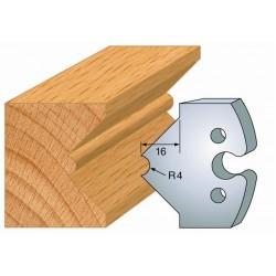 Juego de 2 cuchillas perfiladas de 50 x 5,5 mm. referencia 855.212