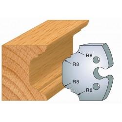 Juego de 2 cuchillas perfiladas de 50 x 5,5 mm. referencia 855.214