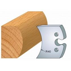 Juego de 2 cuchillas perfiladas de 50 x 5,5 mm. referencia 855.215