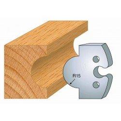 Juego de 2 cuchillas perfiladas de 50 x 5,5 mm. referencia 855.226