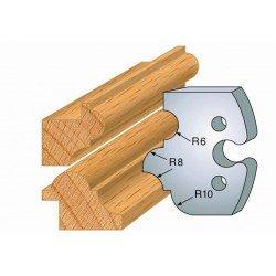 Juego de 2 cuchillas perfiladas de 50 x 5,5 mm. referencia 855.233