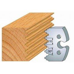 Juego de 2 cuchillas perfiladas de 50 x 5,5 mm. referencia 855.237
