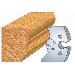 Juego de 2 cuchillas perfiladas de 50 x 5,5 mm. referencia 855.241