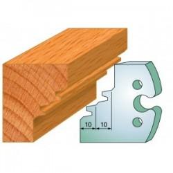 Juego de 2 cuchillas perfiladas de 50 x 5,5 mm. referencia 855.253
