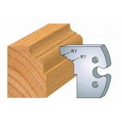 Juego de 2 cuchillas perfiladas de 50 x 5,5 mm. referencia 855.273