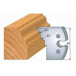 Juego de 2 cuchillas perfiladas de 50 x 5,5 mm. referencia 855.274
