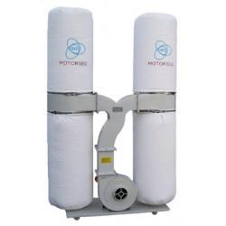 Aspirador trifásico de 2 sacos y 5 Hp. DC3800